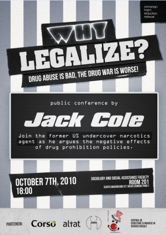 Why legalize - Jack Cole in Romania - RHRN